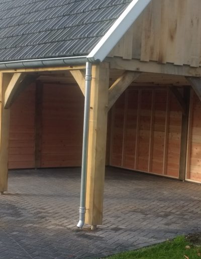 Maatwerk veranda hout
