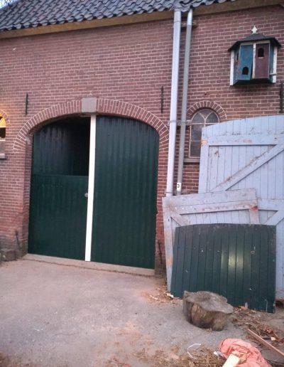 Deel deuren hout boerderij